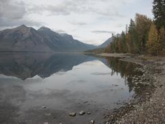 Lake shoreline Stock Photos