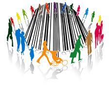 Shopping Stock Illustration