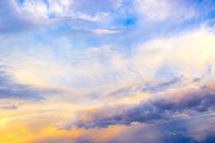 Large clouds Stock Photos