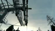 Stock Video Footage of Ski ChairLift Top Cam 1