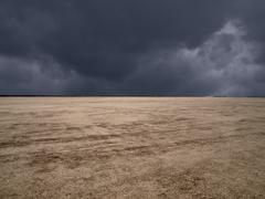 el mirage mojave desert storm - stock photo