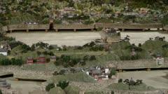 Sandbox model of yuanmingyuan in Beijing. Stock Footage