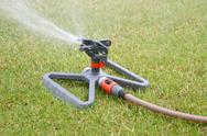 Lawn sprinkler Stock Photos