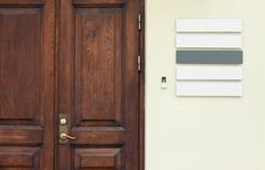 office door - stock photo