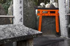 Torii gate Stock Photos