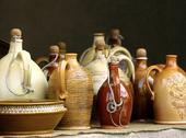 Stock Photo of Traditional jugs