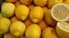 Sicilian lemon Stock Footage