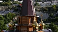 Russian Orthodox Church - stock footage