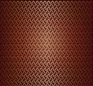 Stock Illustration of golden fabric seamless pattern