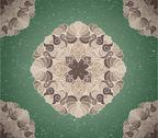 Vintage background with ornament Stock Illustration
