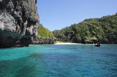 phi phi island, nui bay - stock photo