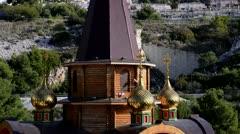 Russian Orthodox Church Stock Footage