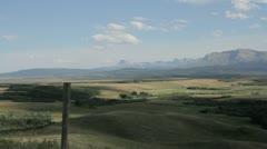 Southern Alberta Panorama - stock footage