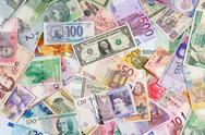 Stock Photo of currency background