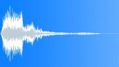 Resonant small whizz - sound effect