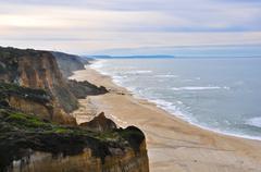 Portugal Coastline - stock photo