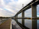 Bridge path Stock Photos