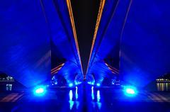 Under the Bridge - stock photo