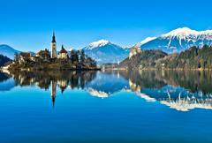 Lake Bled - stock photo