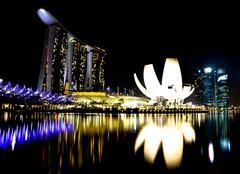 Marina Bay Sands - stock photo