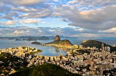 Aerial Rio de Janeiro Stock Photos