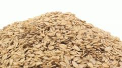 Regular oats zoom in 4 Stock Footage