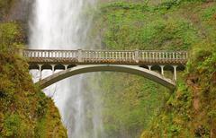 Multnomuh Falls, Oregon Stock Photos