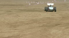 Remote control racing car Stock Footage