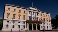 Hotel de Ville - Annecy France Stock Footage