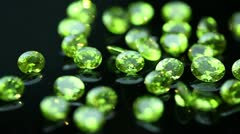 Gemstones - Emerald Stock Footage