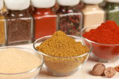 Herbs and spices Stock Photos