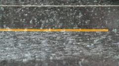 rain6 - stock footage