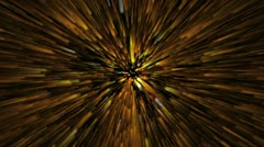 Star tunnel Stock Footage
