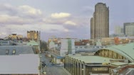 Stock Video Footage of Time Lapse of skyline near Farringdon Station, London