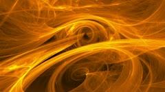 Orange swirl seamless looping background d4470_L Stock Footage