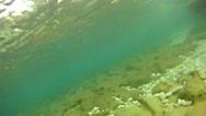Stock Video Footage of underwater mediterranean beach