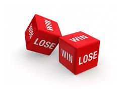 Stock Illustration of win or lose?