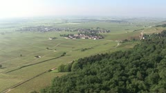 20100603-Nuits-Saint-Georges-vignobles-vineyard-grands-crus-Morey-Saint-Denis Stock Footage