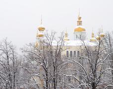 Orthodox monastery in kharkov ukraine Stock Photos