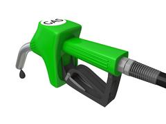 petrol pump nozzle - stock illustration