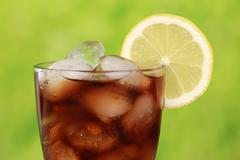 cold cola - stock photo