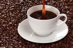 Kuumaa kahvia Kuvituskuvat