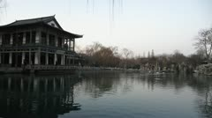 A Calm Lake in China Stock Footage