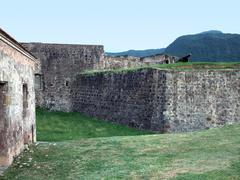 Caribbean fortification Stock Photos