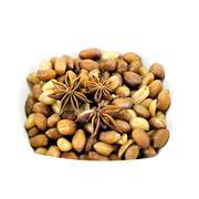 Fried peanuts Stock Photos