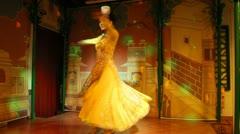 Uyghur dancers - stock footage