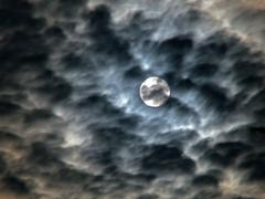 ominous sky - stock photo