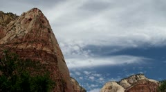 Zion National Park, Utah, USA - stock footage
