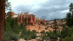 Stock Video Footage of Tourists at Dixie National Forest  (Scenic Byway 12, Utah, USA)