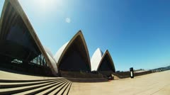 Sydney opera house time lapse Stock Footage
